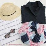 Summer outfit for the seaside