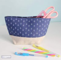 Anchor Pencil Case Bag