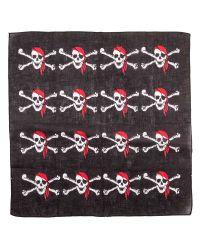 Black Pirate Bandana Scarf