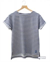 Women's Short Sleeve Striped Top