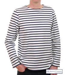 Men's Breton Shirt, Heavyweight Cotton