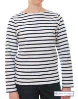 "Ladies' Striped Breton Top ""La Mariniere"""