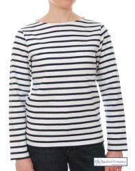 Ladies' Striped Breton Top -