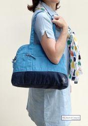 Canvas Handbag, Blue