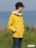 Hooded Fisherman's Smock, Yellow