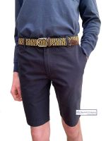 Men's Bermuda Shorts, Navy Blue
