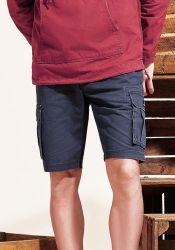 Men's Combat Shorts, Navy Blue