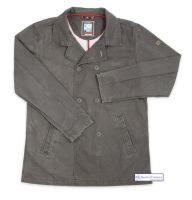 Men's Cotton Reefer Jacket, Distressed Brown
