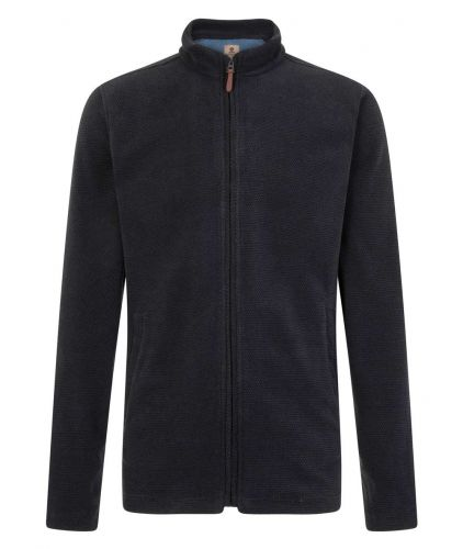 Mousqueton Men's Fleece Jacket, Navy Blue