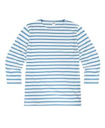 3/4 Sleeve Stripe Top, Royal Blue