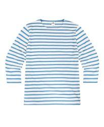 3/4 Sleeve Stripe Top, Royal Blue (only UK12 left)