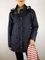 Ladies' Waterproof Parka, Navy Blue, Armor Lux