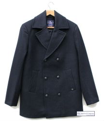 Men's Wool Navy Peacoat/Reefer Jacket