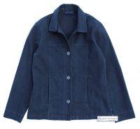 Women's Cotton Jacket, Navy Blue
