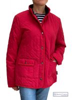 Women's Quilted Jacket, Red with fleece lining