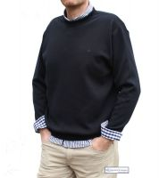 Crew Neck Yachting Jumper, Navy Blue