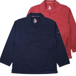Breton Smocks, Navy Blue or Red Brick
