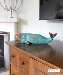 Decorative Sperm Whale Figurine