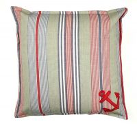 Nautical Striped Cushions with anchor