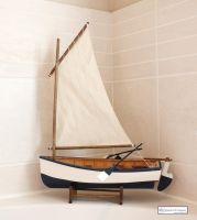 Breton Fishing Canoe Boat Model
