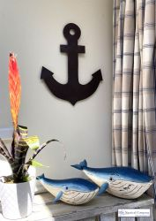 Metal Anchor Wall Art