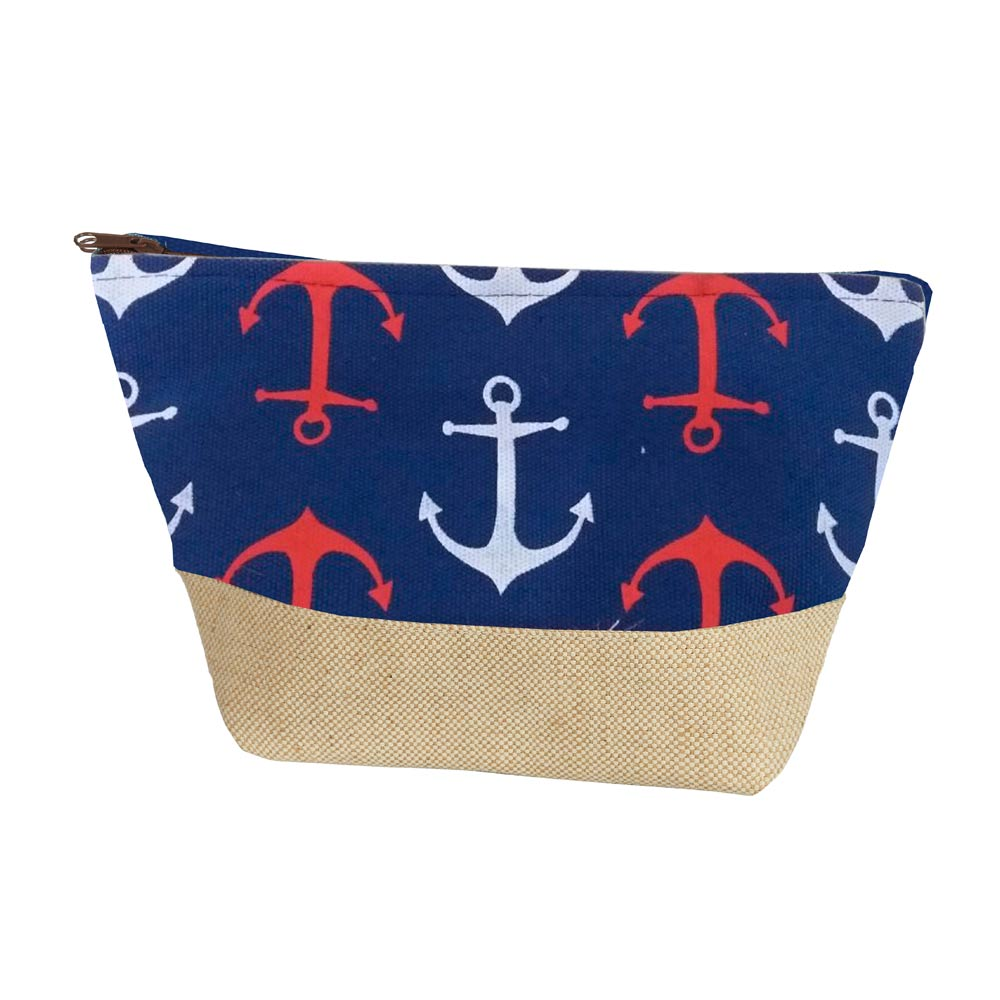 Art Décor: Nautical Pouch Bags With Anchors