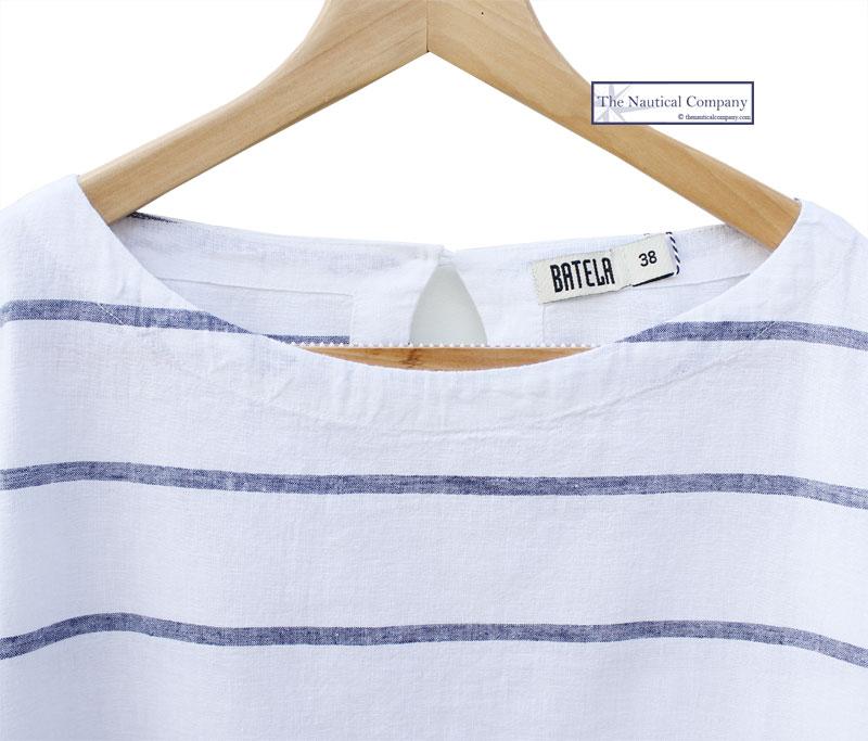 Ladies  Short Sleeve Linen Blouse Top 0ecc27fdf