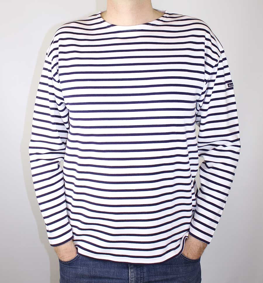 Men's Breton Sailor Shirt by Armor-Lux (Heavyweight) ...