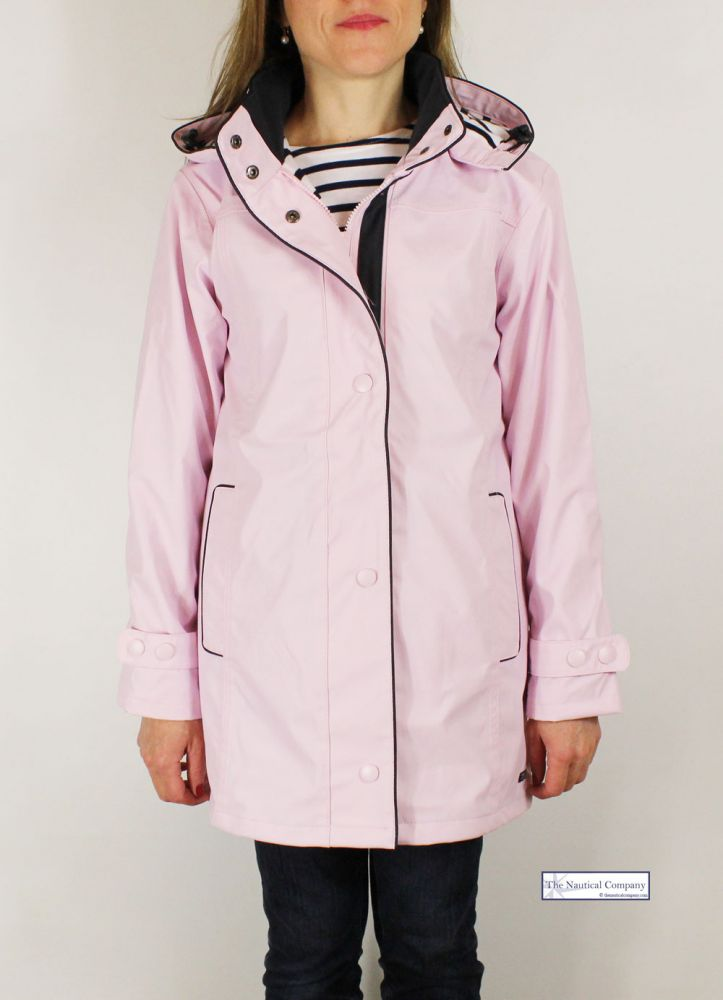 enjoy cheap price best deals on street price Women's Waterproof Jacket, Pink, Hooded, Striped Lined - THE ...