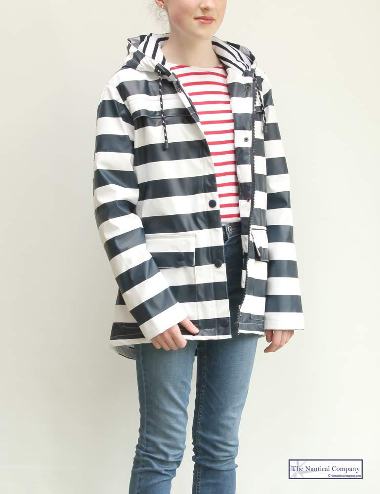 Art Décor: Nautical Waterproof Jacket For