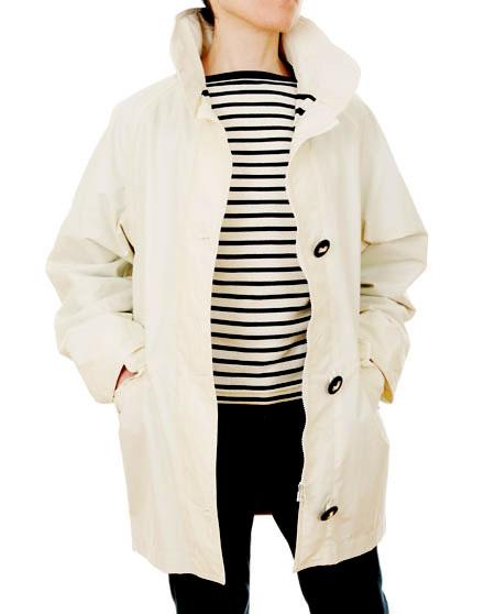 Women's Cream/Off White Waterproof Parka Jacket Mat de Misaine ...