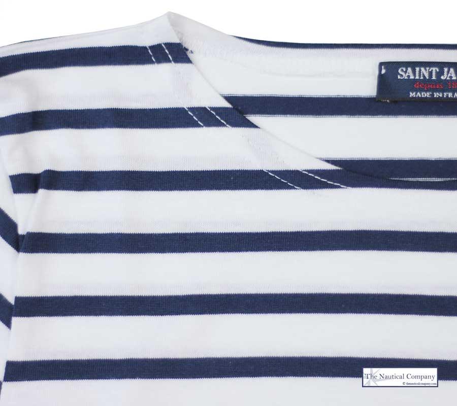 Art Décor: Saint James Galathee Breton Stripy Top/tee Shirt