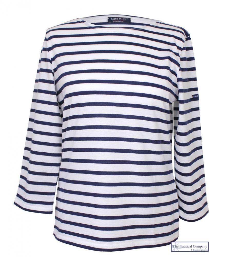 Saint james galathee breton stripy top tee shirt the for St james striped shirt