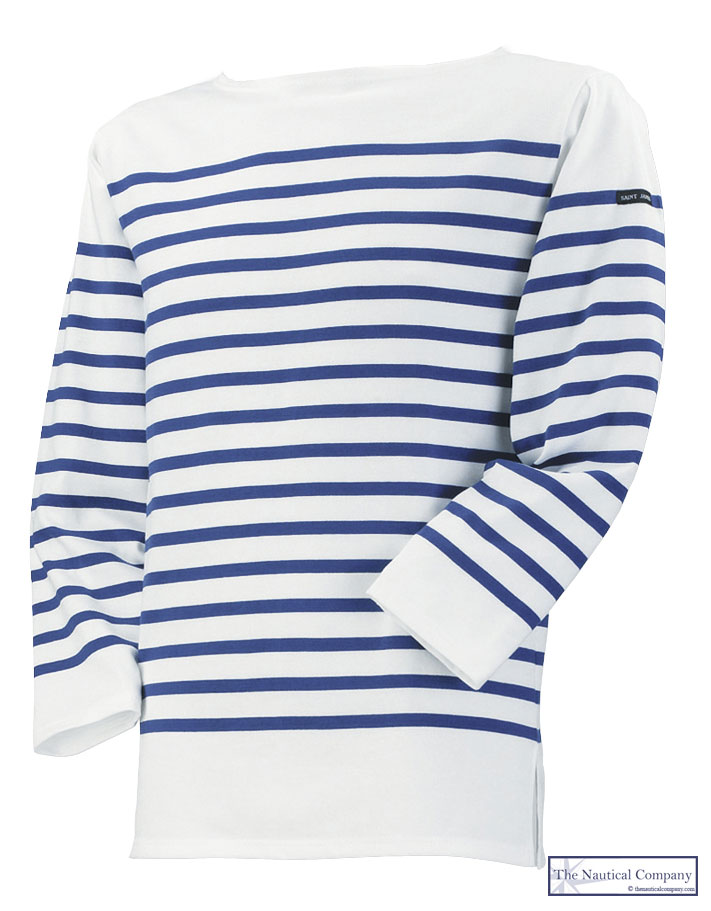 Picasso Breton Shirt For Women Amp Men White Cobalt Blue