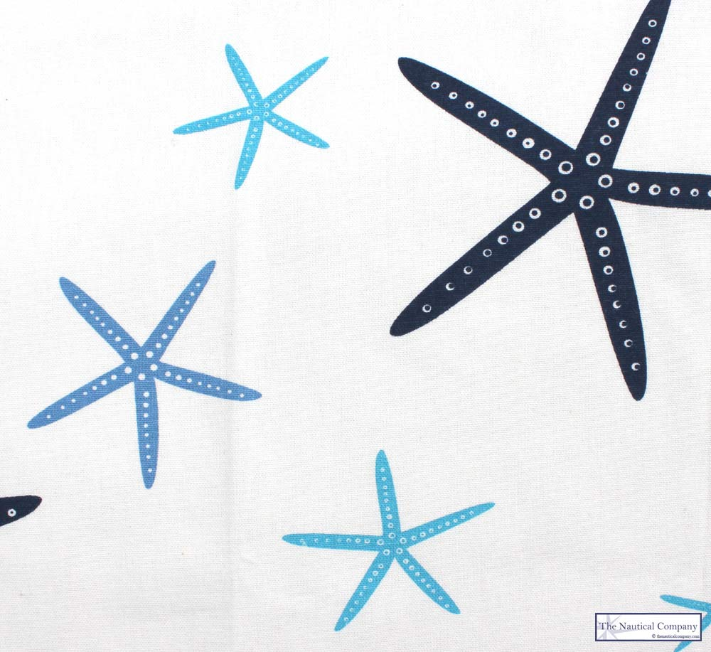 Art Décor: Nautical Starfish Apron, 100% Cotton, Adjustable Neck