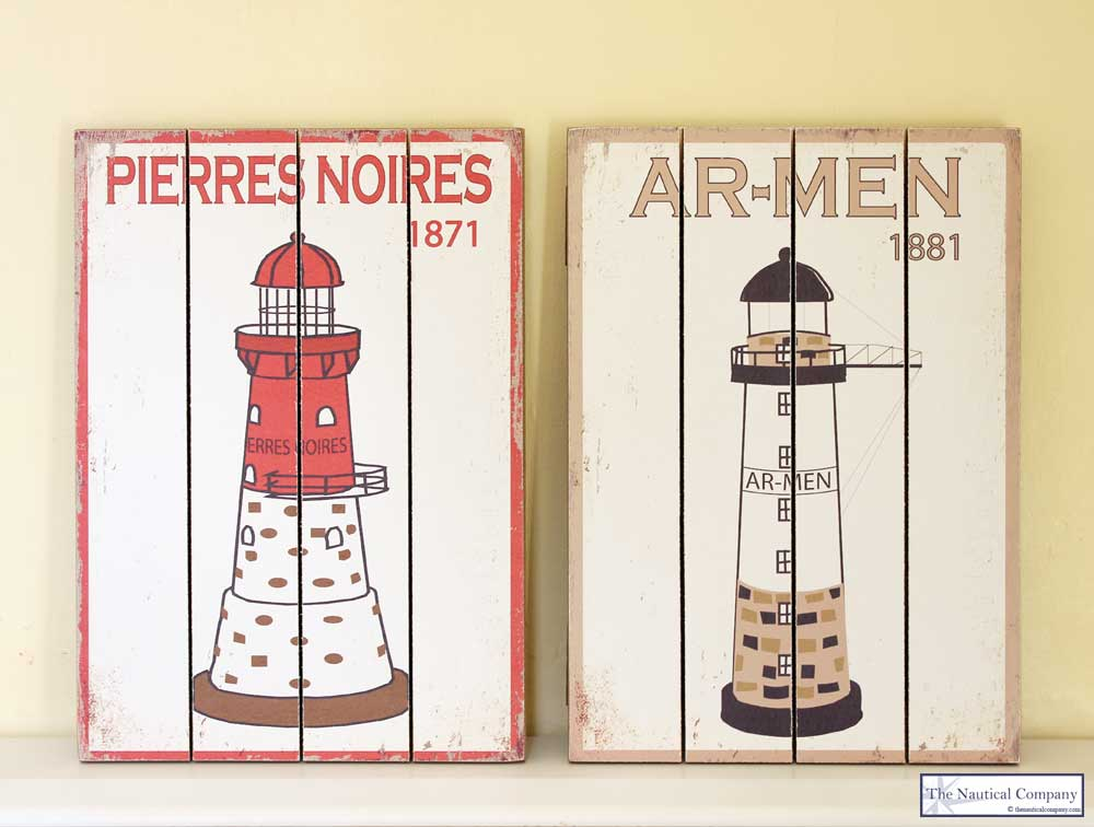 Lighthouse Wall Decor Plaque