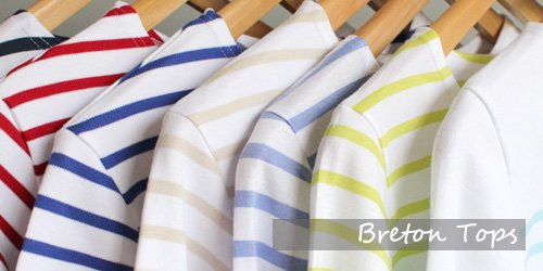 Art Décor: Fashion Breton Clothes & Coastal Decor Gifts